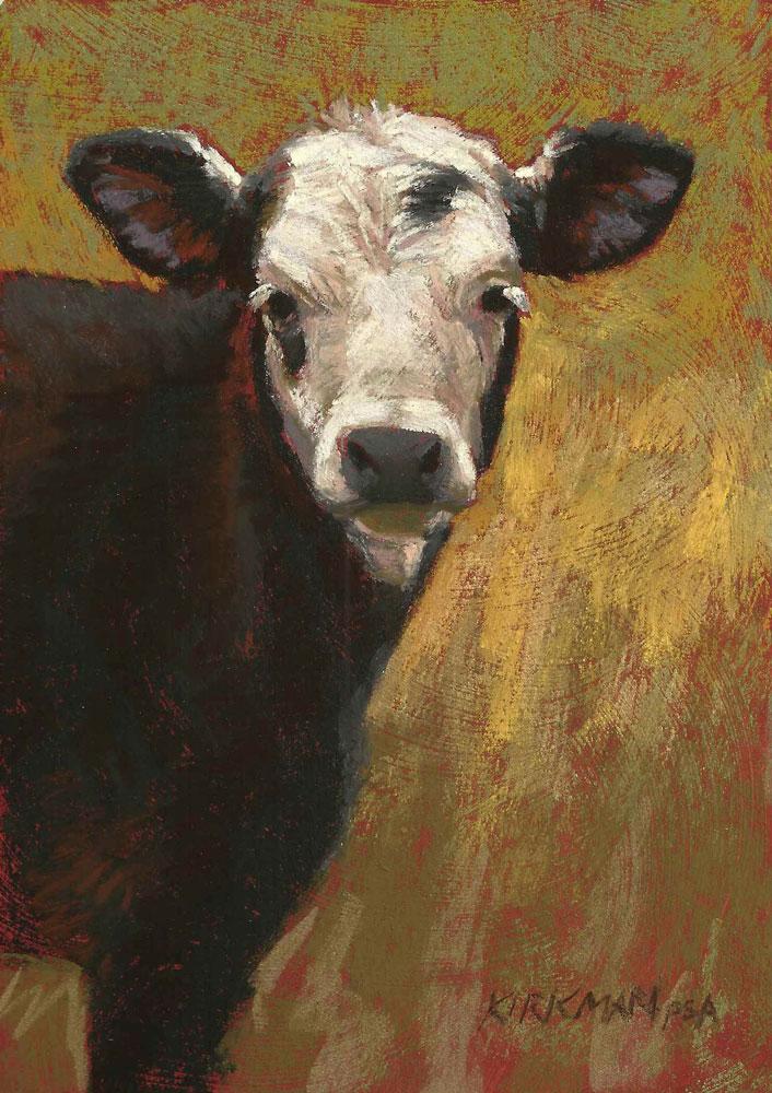 """Spot"" original fine art by Rita Kirkman"