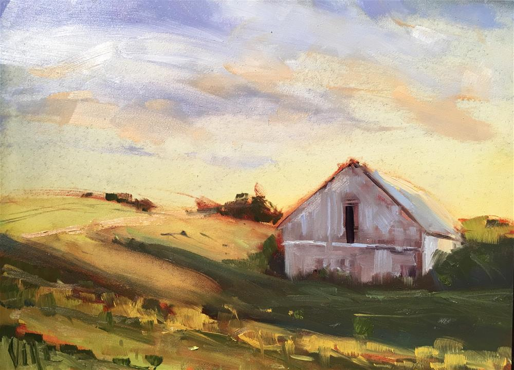 """279 Heartland"" original fine art by Patty Voje"