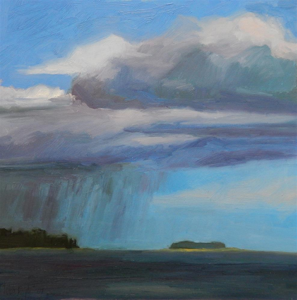 """Summer Storm"" original fine art by Lisa Kyle"