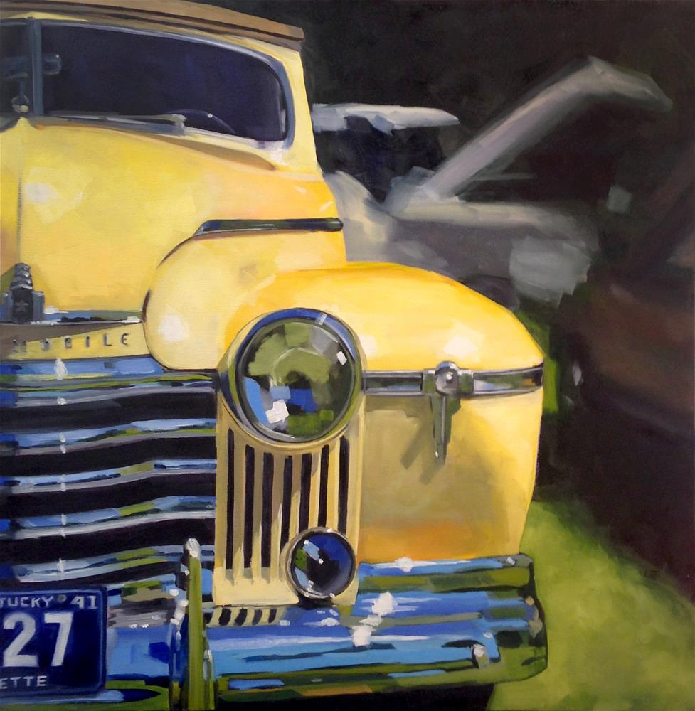 """1941"" original fine art by Elizabeth Dawn Johnston"
