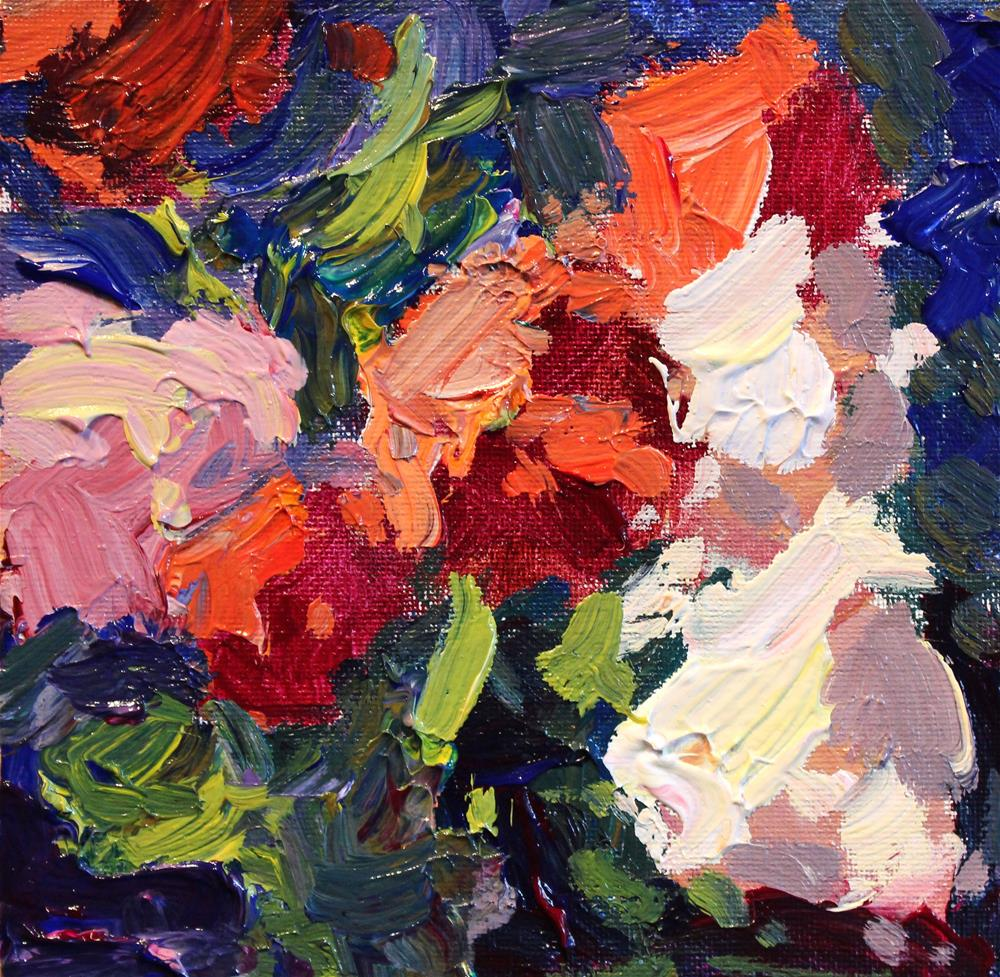 """A Fresh Bouquet "" original fine art by Michael Clark"