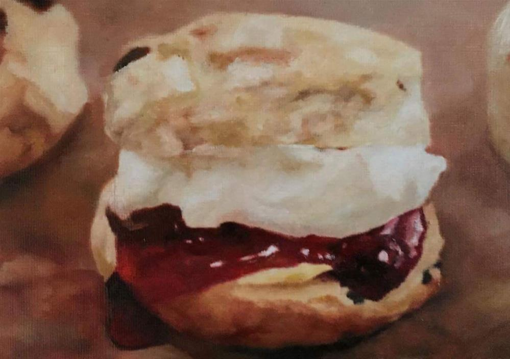 """Scones"" original fine art by John Cameron"