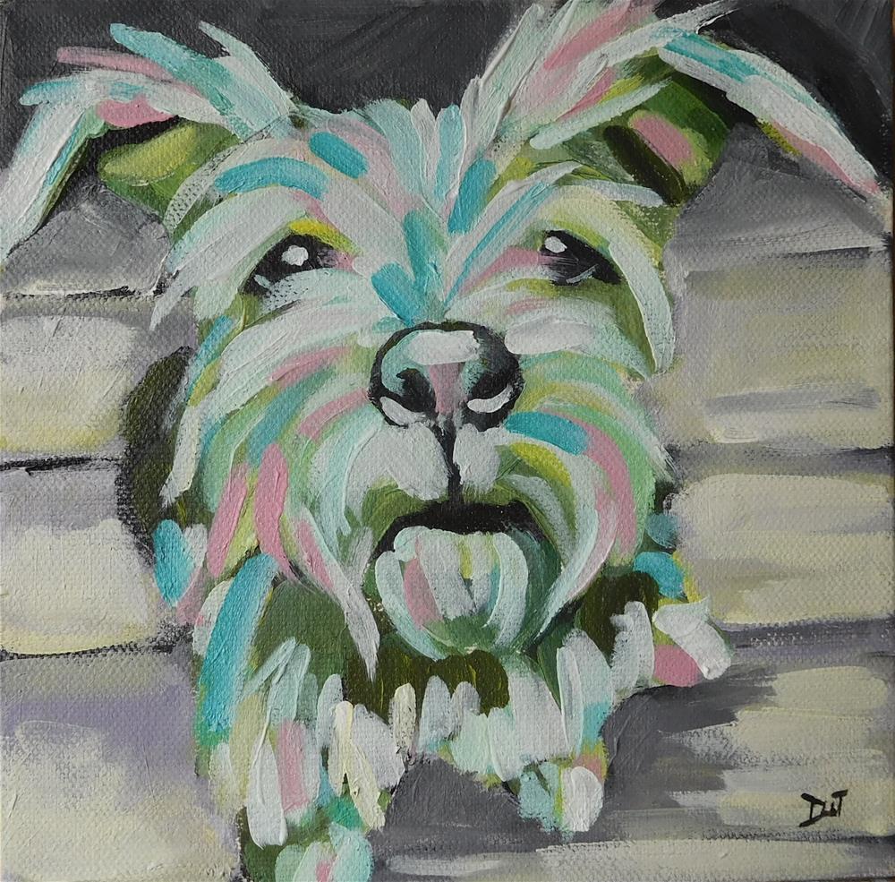 """Yorkshire Terrier"" original fine art by Daryl West"