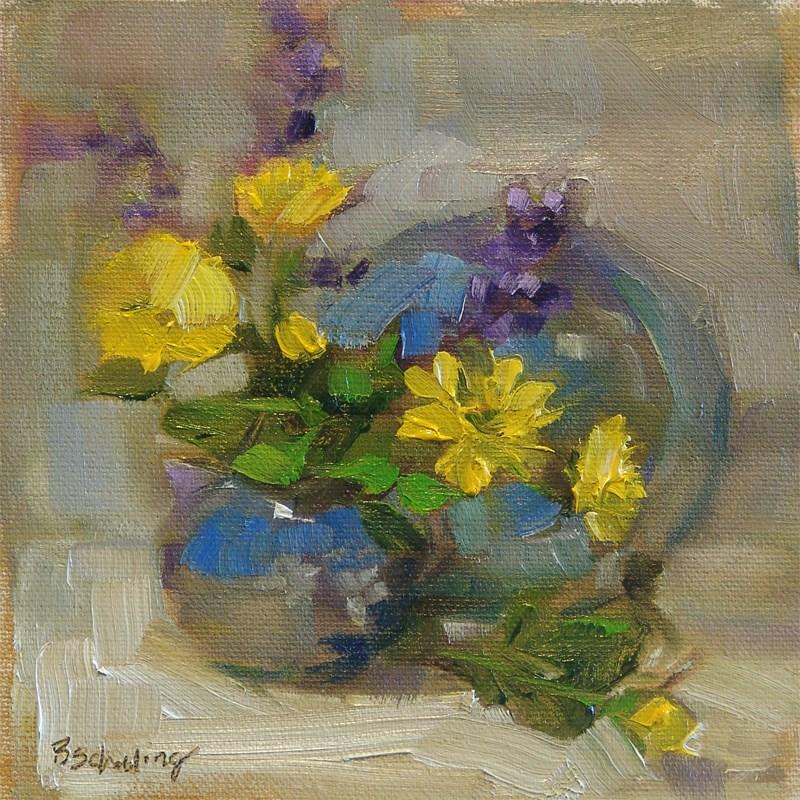 """Creamer and Saucer"" original fine art by Barbara Schilling"