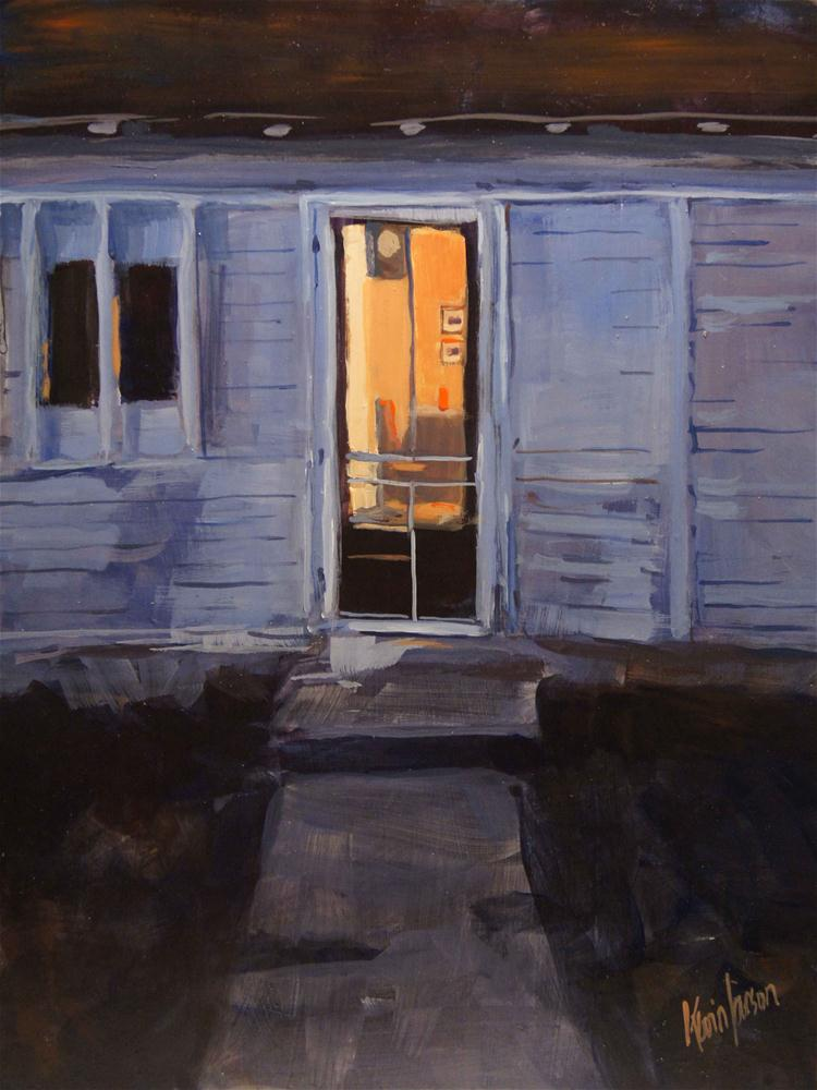 """Kitchen Light"" original fine art by Kevin Larson"