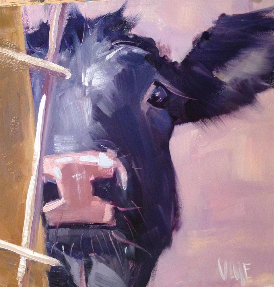 """#99 Peek A Boo"" original fine art by Patty Voje"