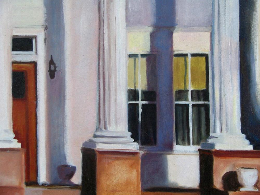 """Summit Ave Front Porch"" original fine art by Patty Voje"