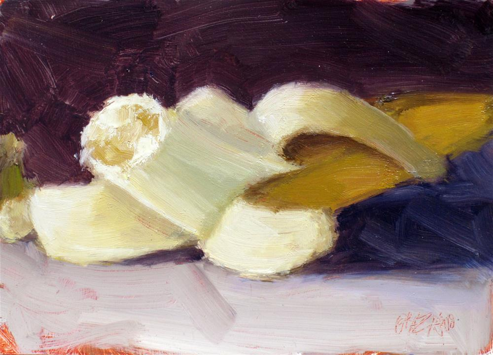 """banana"" original fine art by Dan Graziano"