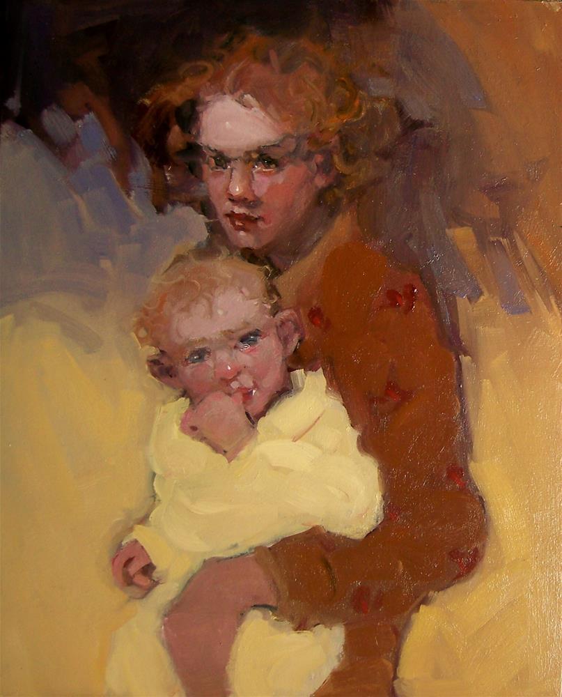 """Bundle Of Joy"" original fine art by Kim Roberti"