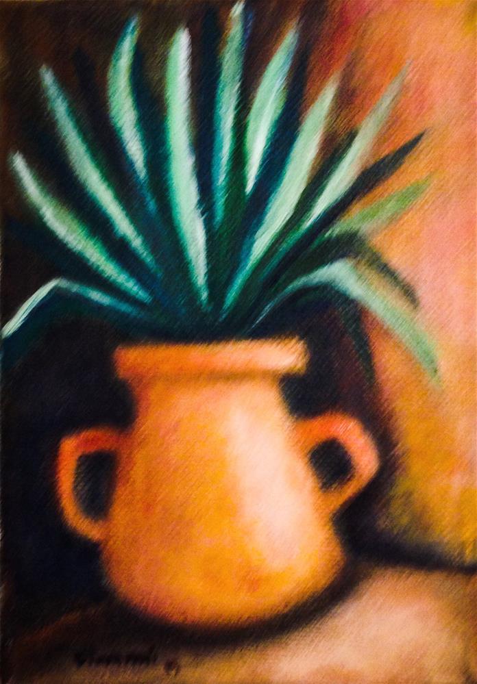 """Agave Plant"" original fine art by Giovanni Antunez"
