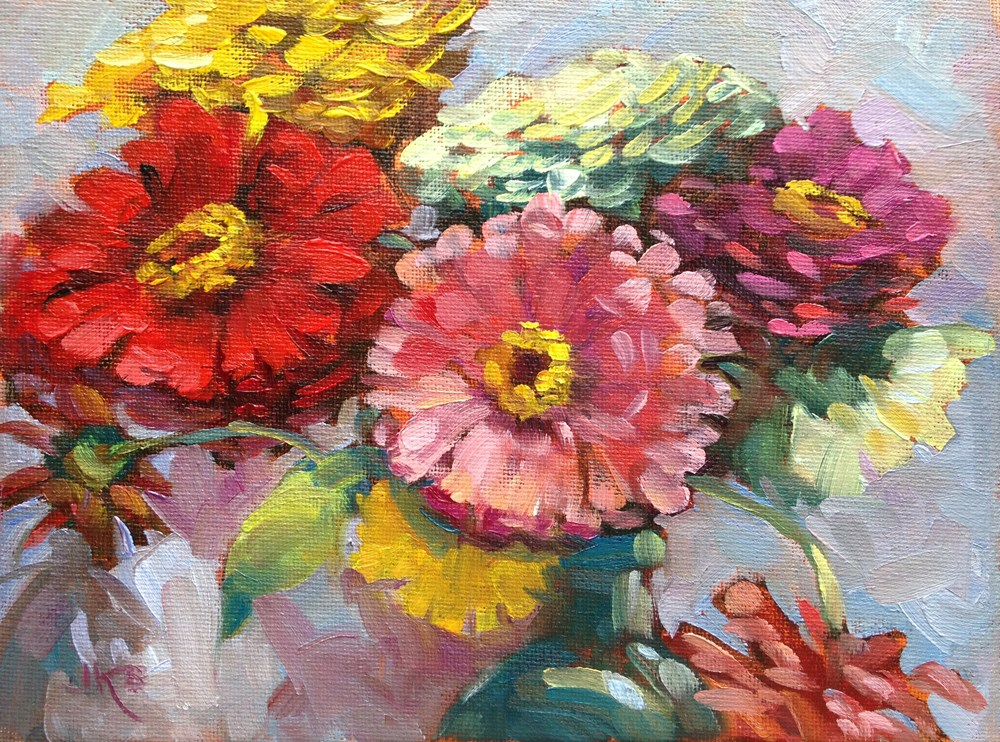 """Close-Up"" original fine art by Jeanne Bruneau"