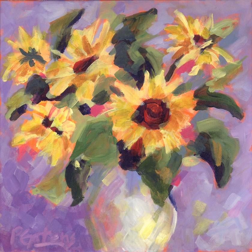 """Sunny Associates"" original fine art by Pamela Gatens"