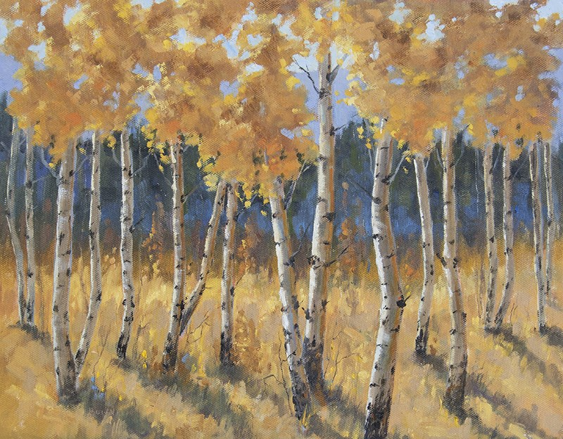 """Falling Shadows"" original fine art by Bonnie Bowne"