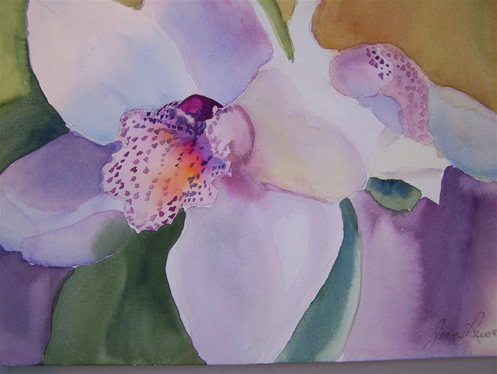 """Orchid"" original fine art by Joan Reive"