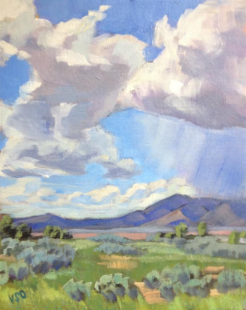 """Spring in the Valley"" original fine art by Valerie Orlemann"