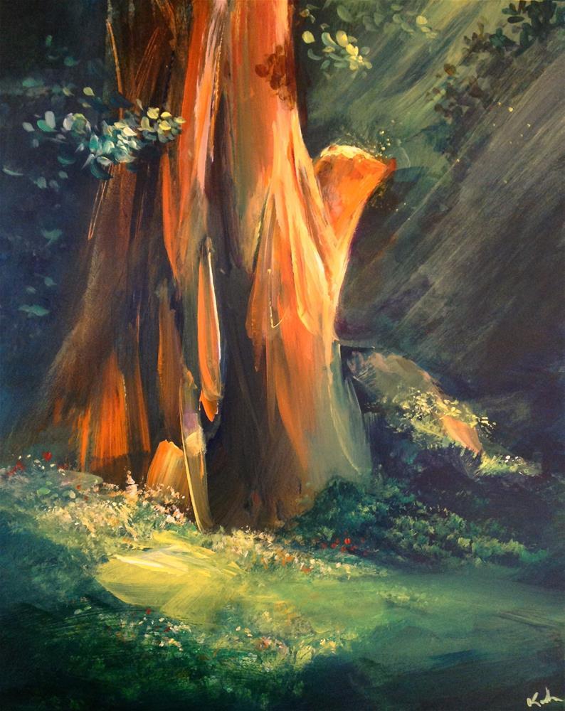 """Each Pleasant Note"" original fine art by David Kuhn"