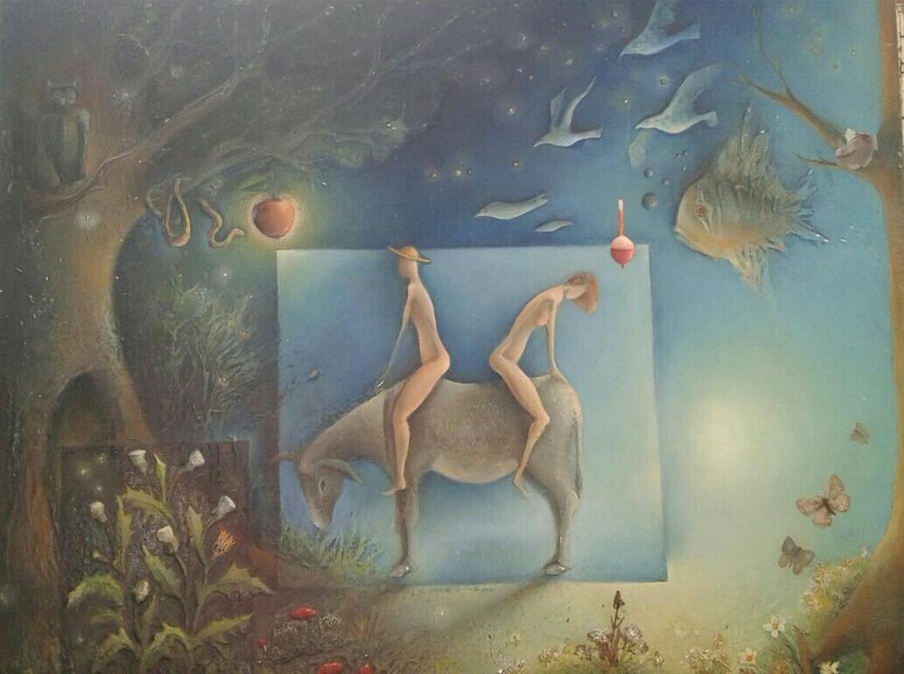 """To Love Anyway"" original fine art by Mitko Dimitroff"