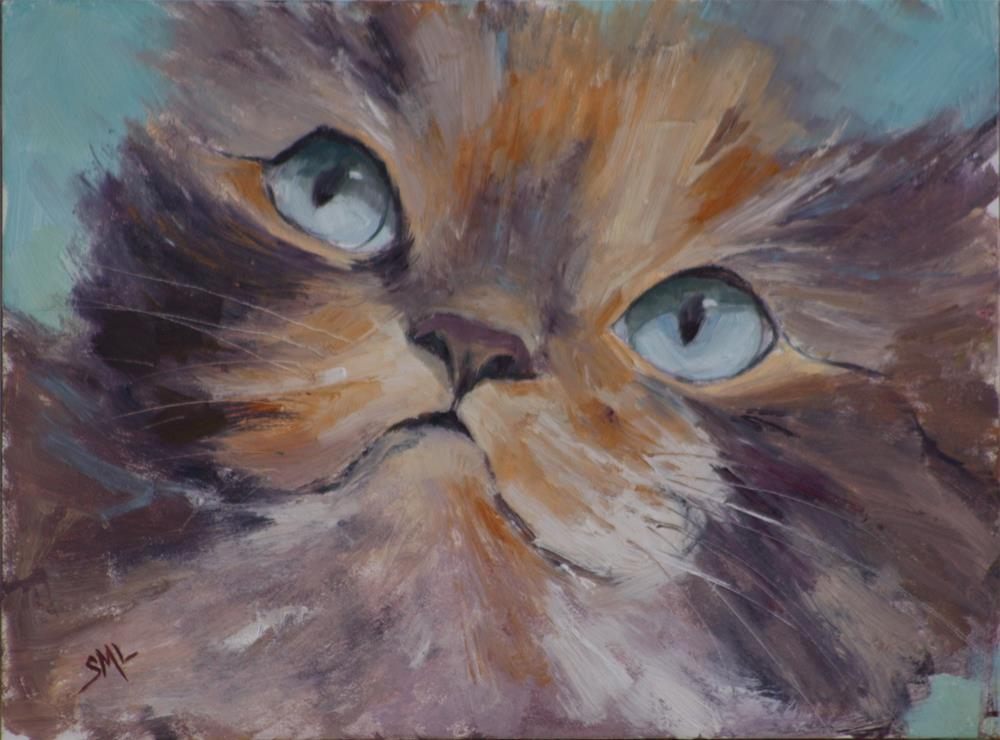 """Curious"" original fine art by Sheila Marie"