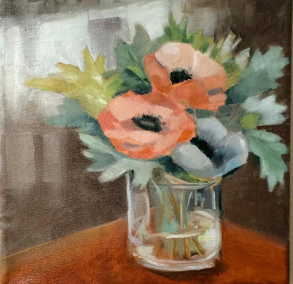 """Anemone"" original fine art by Suzanne Gysin"