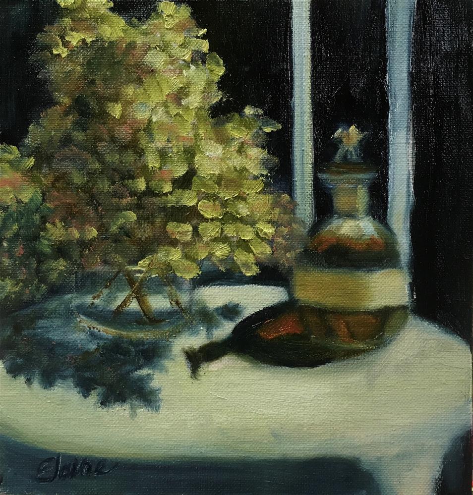 """The Bourbon Series - Blanton's"" original fine art by Elaine Ford"