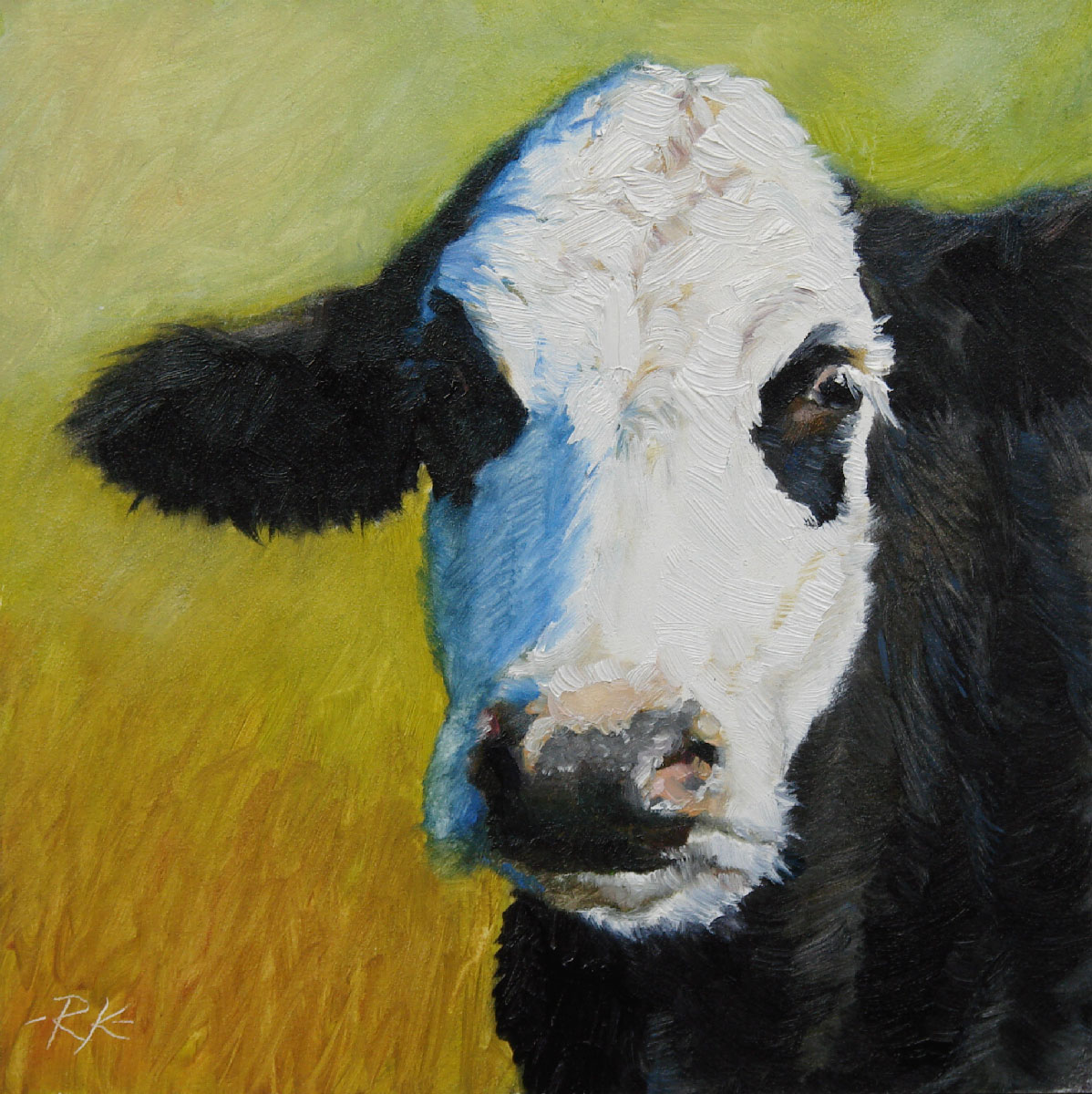 """Nellie"" original fine art by Rita Kirkman"