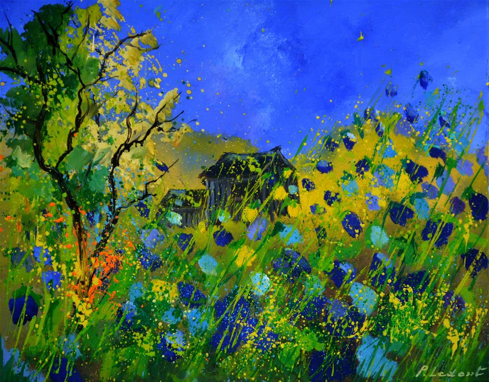 """summer 546190"" original fine art by Pol Ledent"