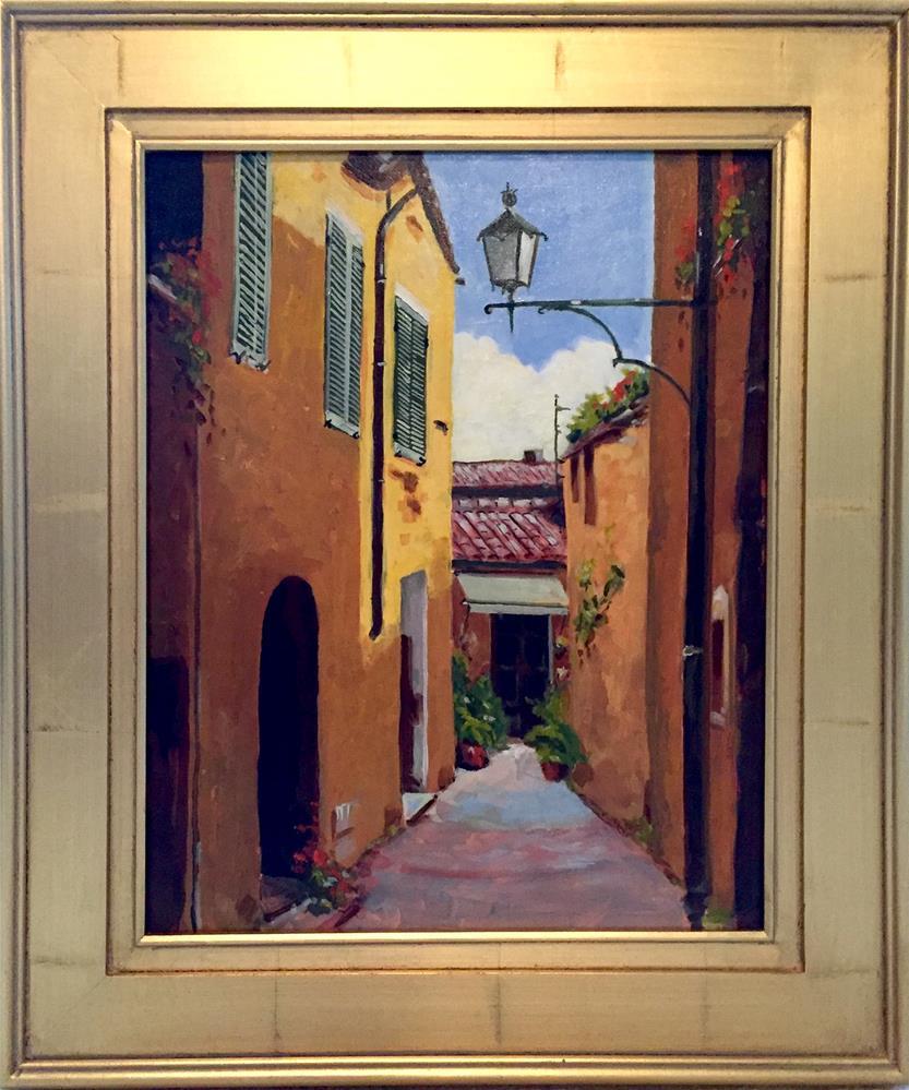 """Montepulciano Afternoon"" original fine art by Cornelis vanSpronsen"