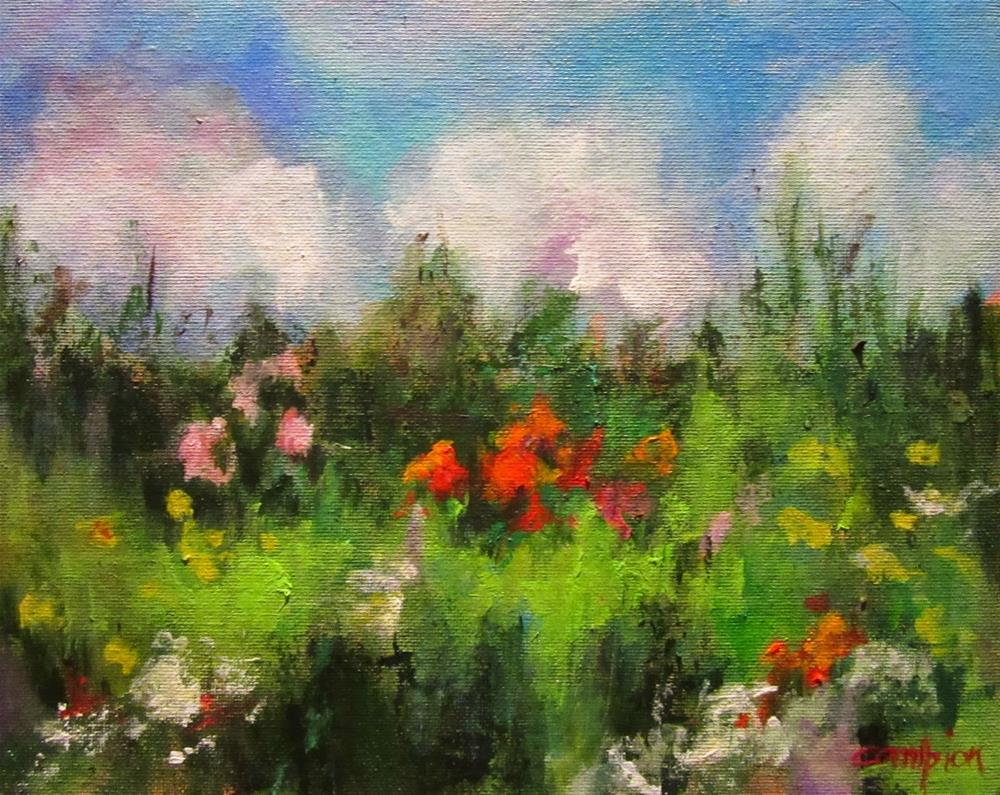 """507 Meadow of Thanks"" original fine art by Diane Campion"