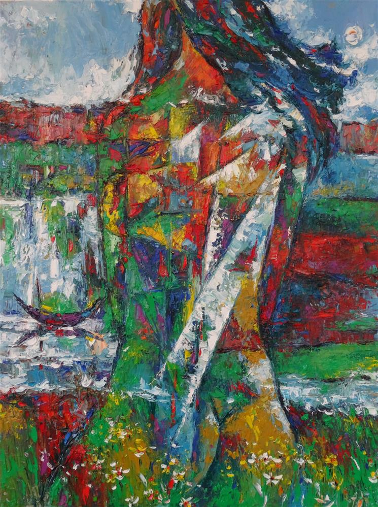 """Moonlight"" original fine art by Duc Tran"