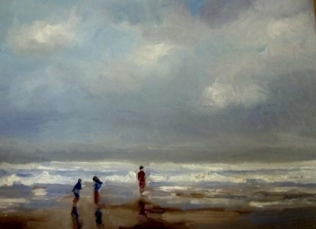 """Timeless Moment (Study2)"" original fine art by Astrid Buchhammer"
