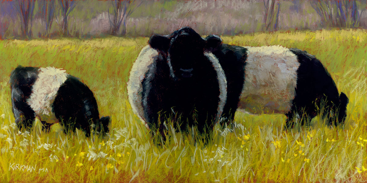 """Grazing Oreos"" original fine art by Rita Kirkman"