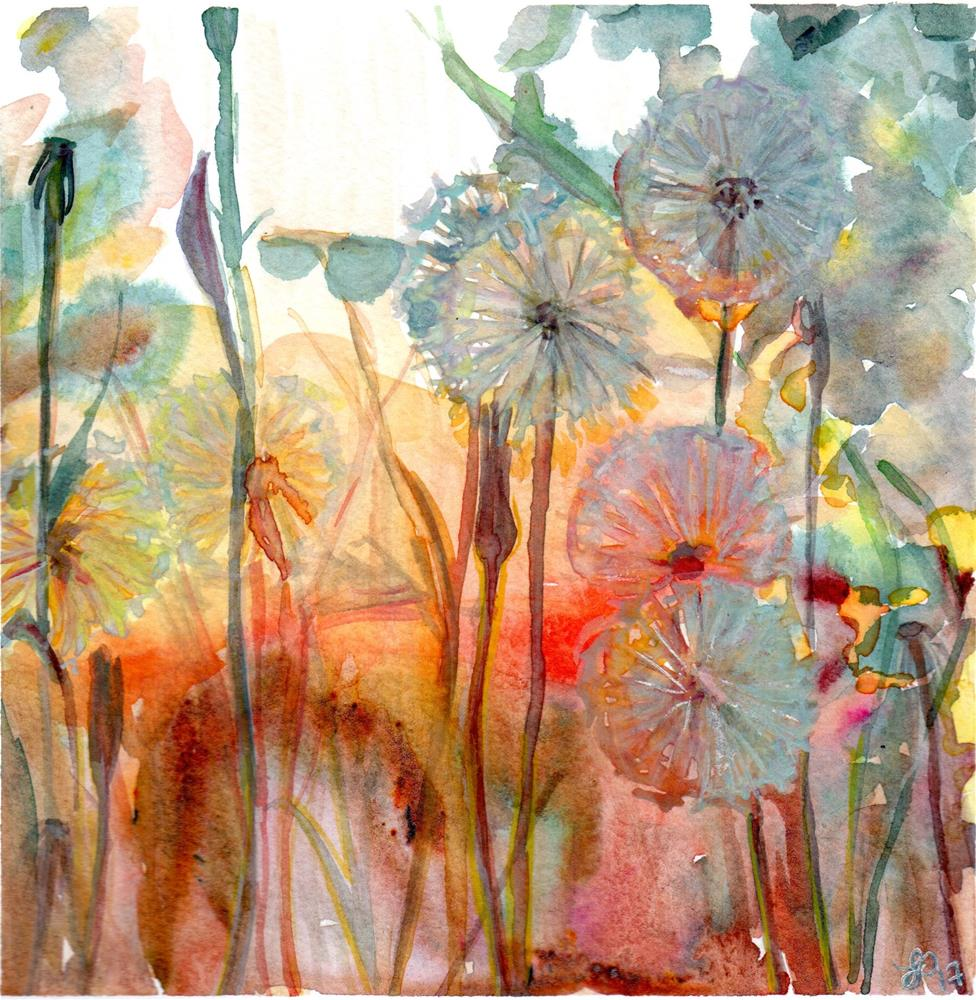 """Make A Wish"" original fine art by Laura Denning"