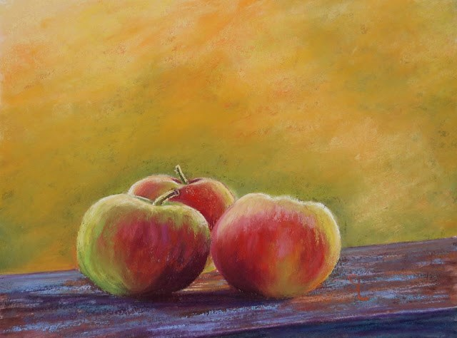 """Harvest"" original fine art by Sharon Lewis"