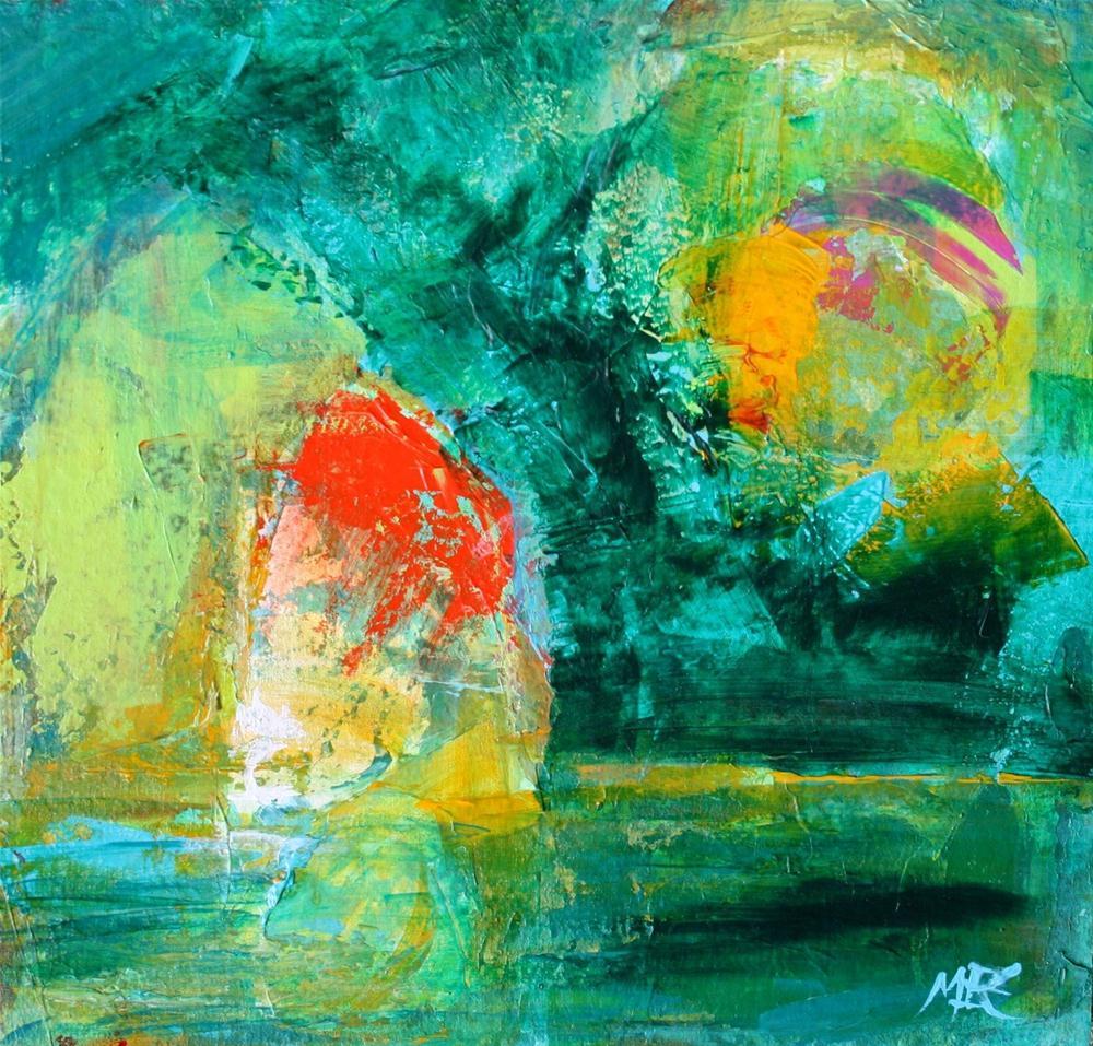 """Mi Casa"" original fine art by Elizabeth Chapman"