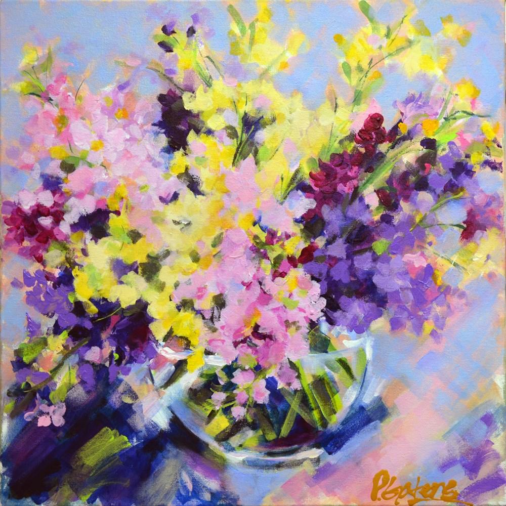 """Summer Stocks"" original fine art by Pamela Gatens"