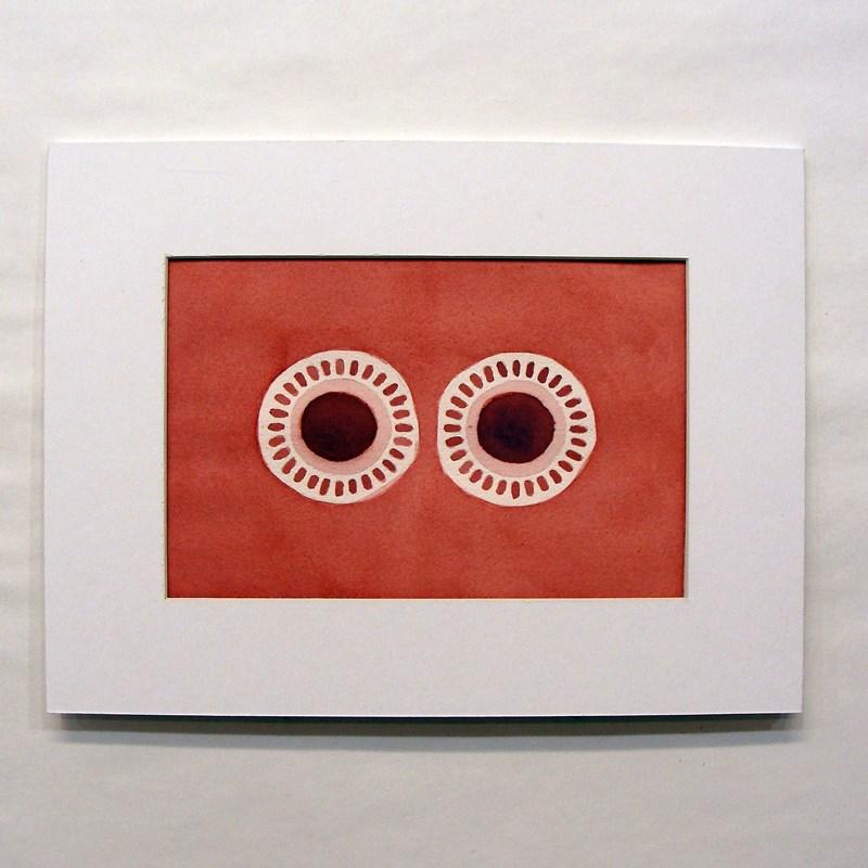 """Dialpack Study II"" original fine art by Bonnie Fillenwarth"