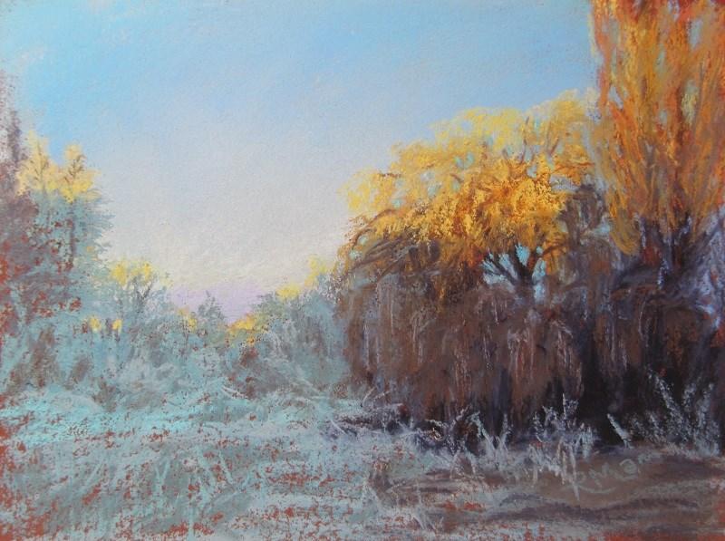 """""""Sun caught"""" original fine art by Ruth Mann"""