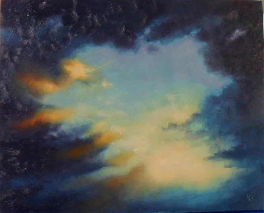 """Promise of a New Day"" original fine art by Karen Roncari"