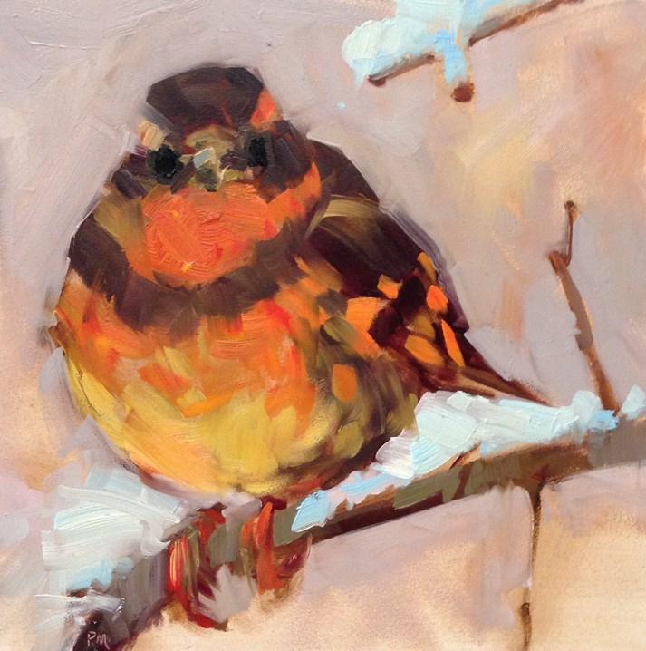 """Fireball"" original fine art by Patti McNutt"