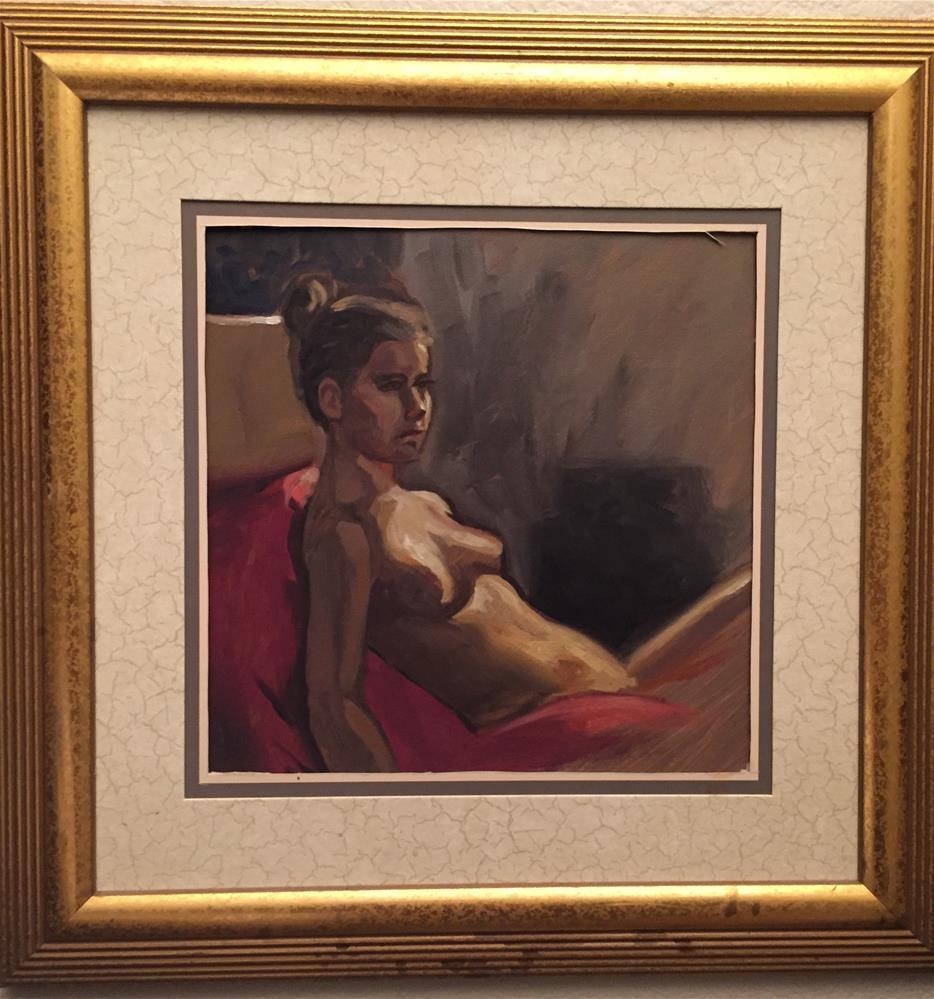 """""""Karen"""" original fine art by Eduardo Posadas"""