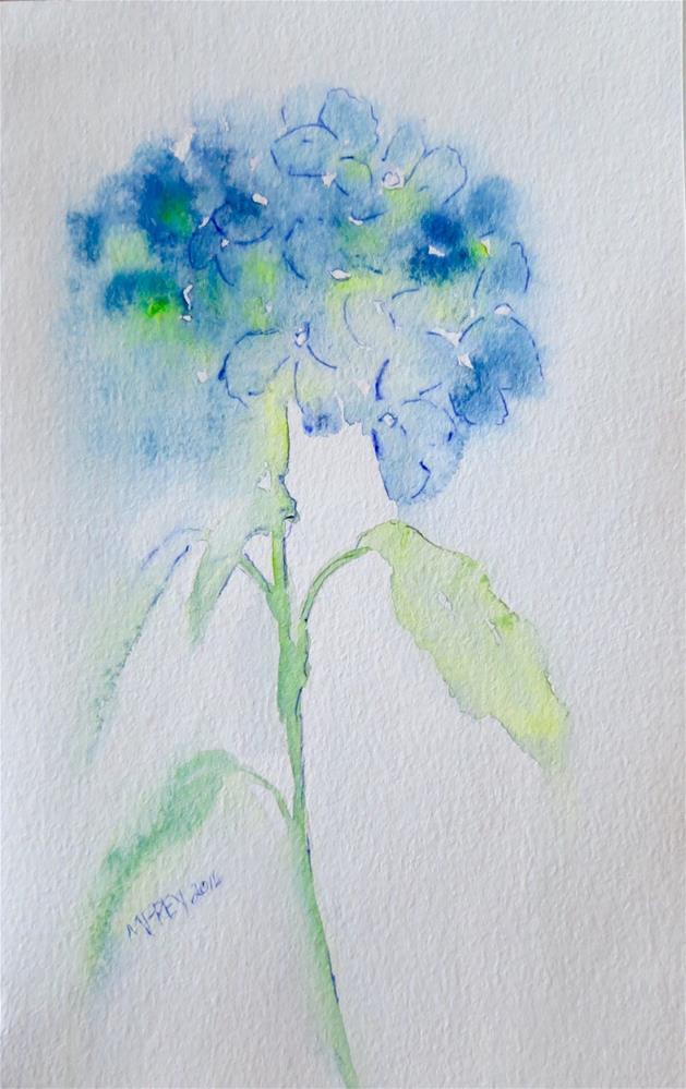 """Flower 0144"" original fine art by Michelina Frey"