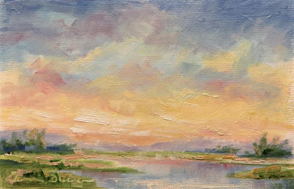 """""""Cloud Song"""" original fine art by Tammie Dickerson"""