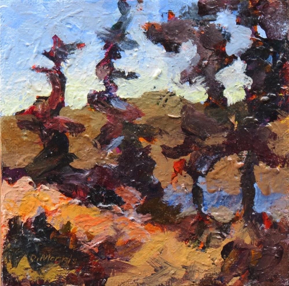 """Autmmn Ridge"" original fine art by Dann Morris"