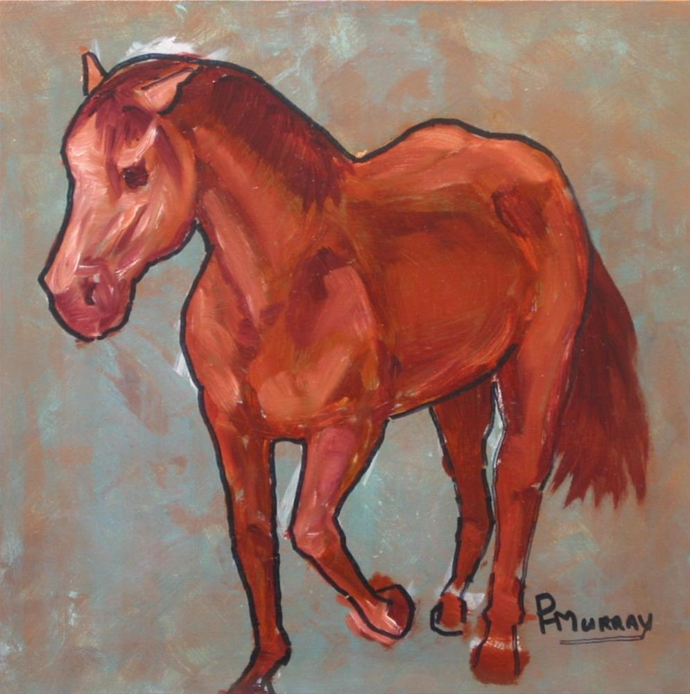 """Coming Home"" original fine art by Patricia Murray"