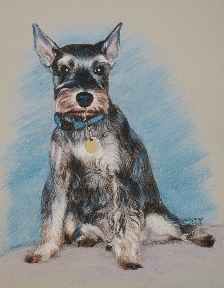 """Frankie"" original fine art by Rita Kirkman"