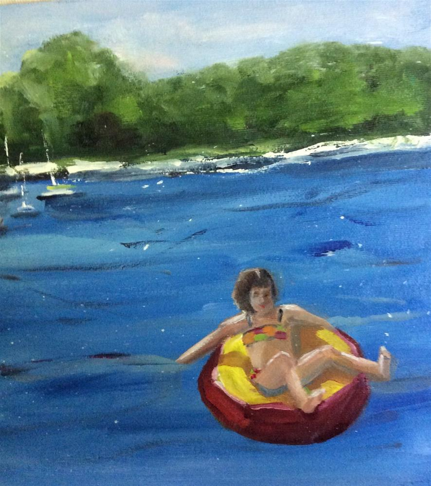 """Summertime"" original fine art by Patty Barnes"