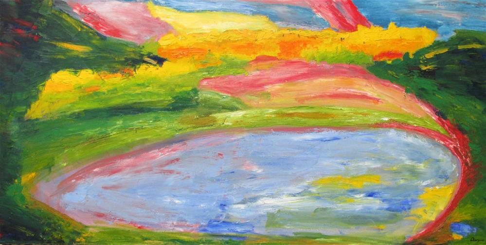 """Fall, Spooner Lake, Nevada"" original fine art by Will Dargie"
