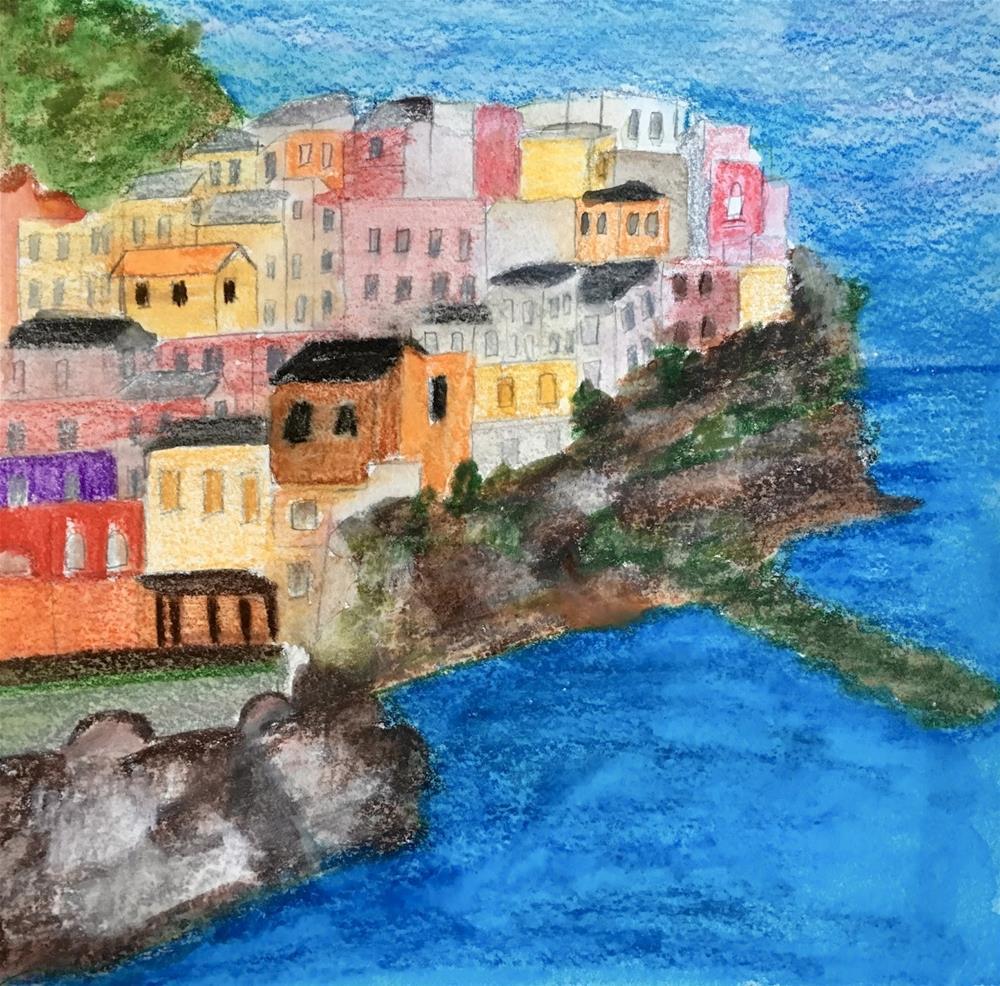 """The Isle"" original fine art by Kimberly Balentine"