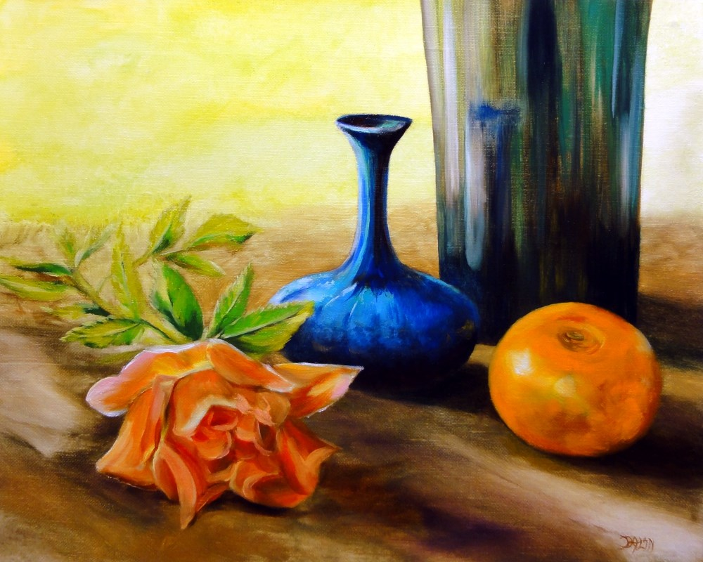 """Santa Rosa Afternoon"" original fine art by Dalan Wells"
