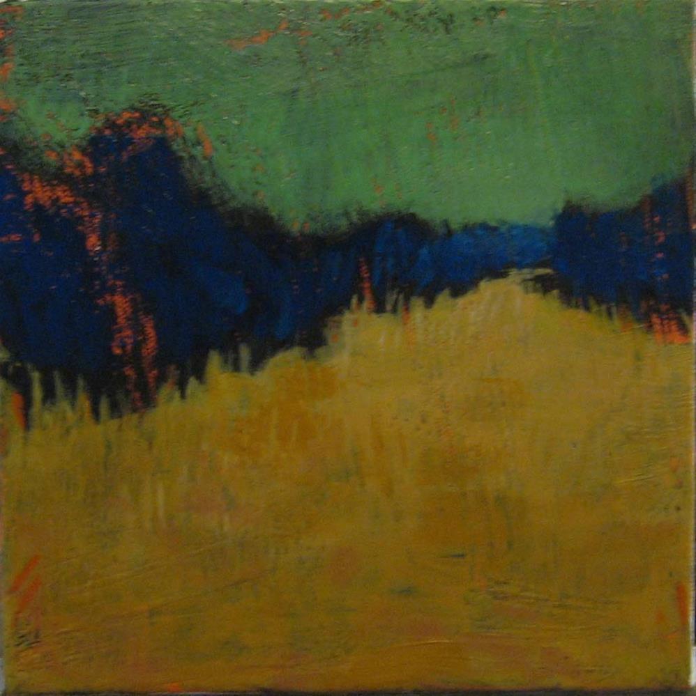 """August Night Landscape"" original fine art by Kristina Davidson"